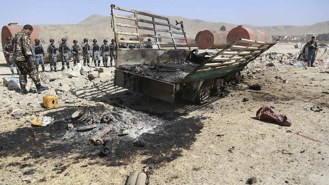 Confirman la muerte de siete insurgentes responsables del ataque al aeropuerto de Kabul
