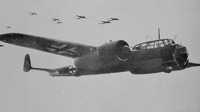Rescatan un bombardero alemán «único» de la II Guerra Mundial en el Canal de la Mancha