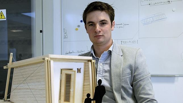 Diseñan un sistema para construir casas de madera en cinco horas y sin ayuda