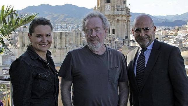 Ridley Scott visita Andalucía para buscar localizaciones para sus proyectos
