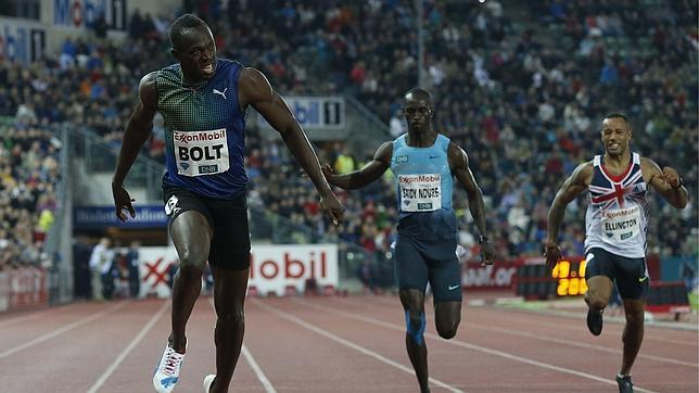 Usain Bolt, inalcanzable en Oslo