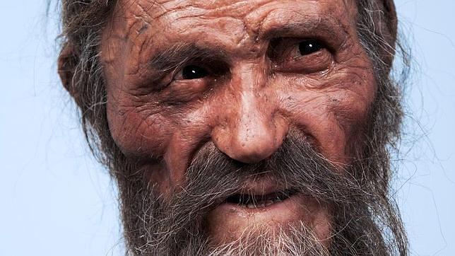 Ötzi, el hombre de hielo, ¿muerto por un coágulo en la cabeza?