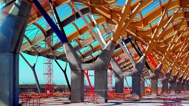 Zona de embarque t4 terminal t4 madrid barajas pinterest - Jose manuel ballester ...