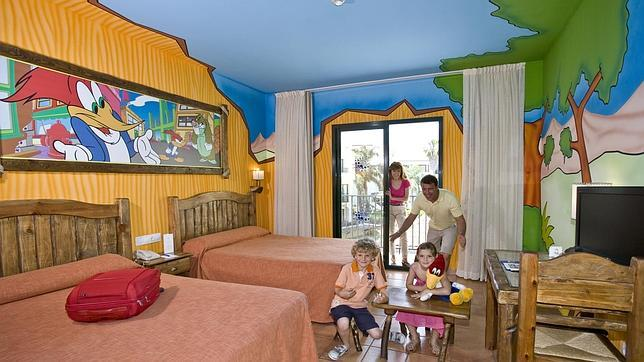 Diez hoteles estupendos para disfrutar en familia for Hoteles baratos para familias