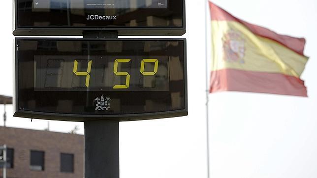 Las temperaturas más extremas de la historia en España