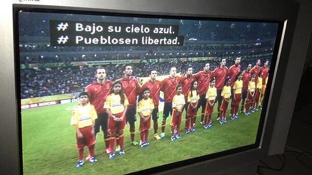 La BBC «pone» letra al himno de España