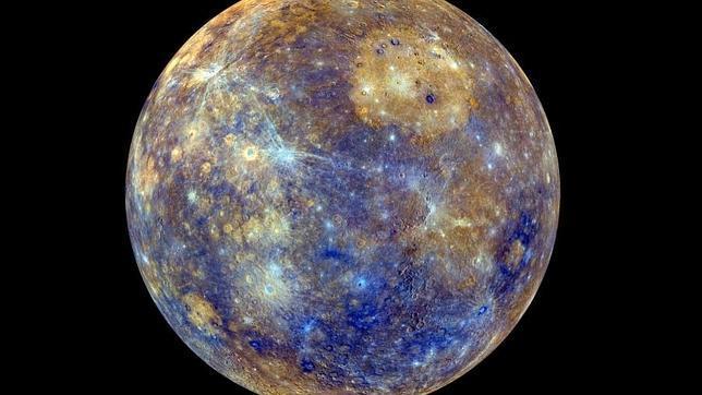 La superficie entera de Mercurio, revelada a todo color