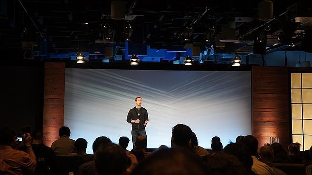 Mark Zuckerberg, durante la presentación