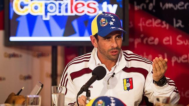 Capriles visitará en los próximos días Perú, Brasil, Chile y México