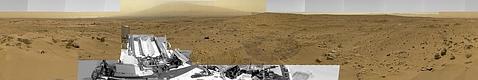 El Curiosity capta la más grandiosa fotografía de Marte