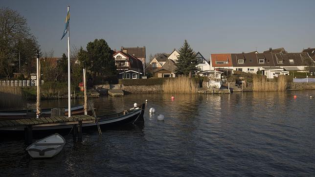 Casas del barrio de Holm en Schleswig