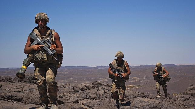 Los 43 próximos militares españoles enviados a Mali serán paracaidistas