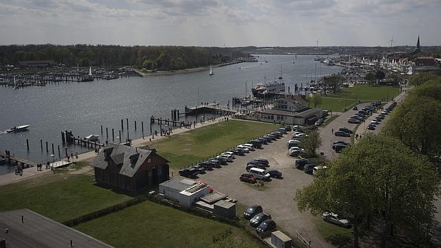 Puerto de Travemünde, salida al mar Báltico de Lübeck