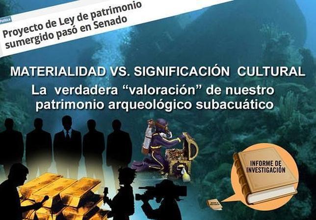 Cuando los cazatesoros brindan por la ley de Patrimonio colombiana...