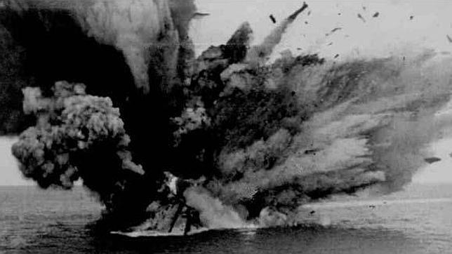 Los barcos españoles que hundieron los submarinos nazis en la II Guerra Mundial