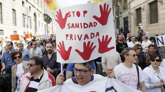 Las protestas en defensa de la sanidad pública vuelven a la calle este domingo