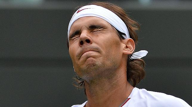 Patinazo de Nadal en Wimbledon