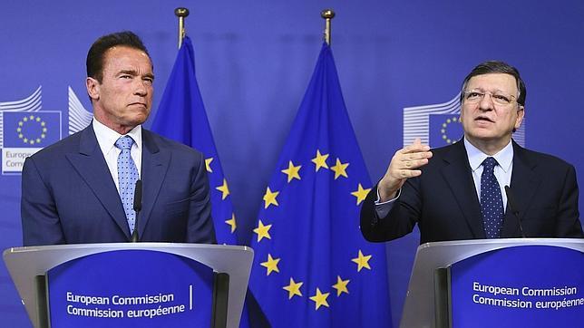 Schwarzenegger pide a los alcaldes de la UE que se impliquen en la lucha contra el cambio climático