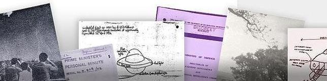 Algunos de los documentos desclasificados