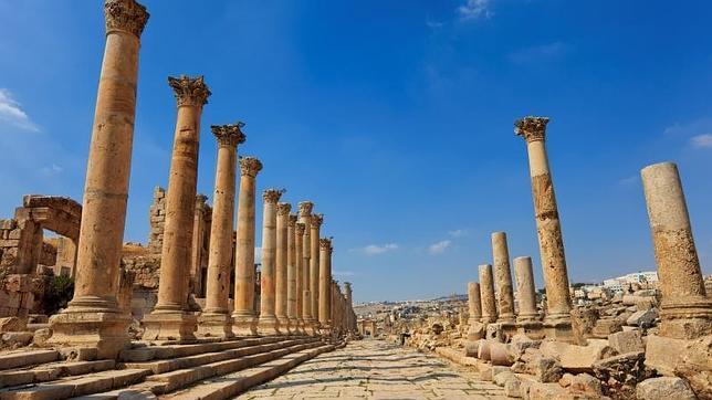 Jerash, una de las ciudades romanas más importantes de Oriente Próximo