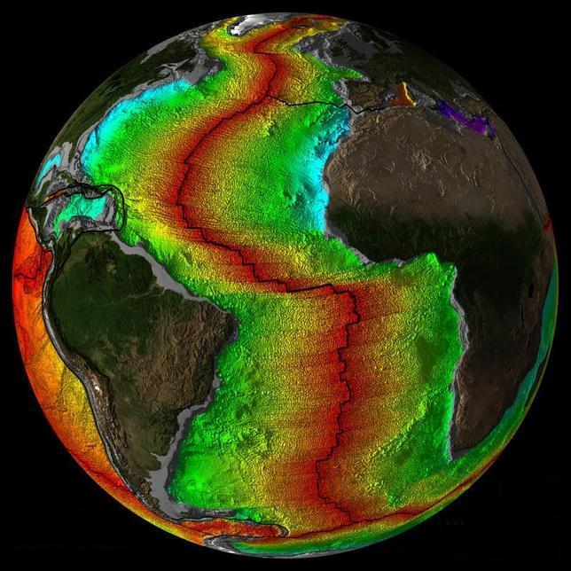 La Península Ibérica se «tragará» el Atlántico dentro de 220 millones de años