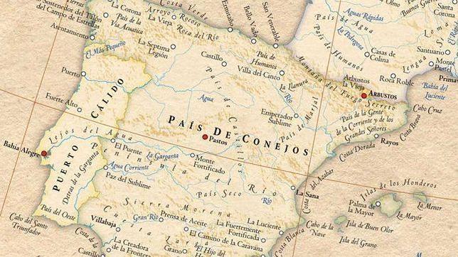 Así es el mapa mundi de los nombres verdaderos