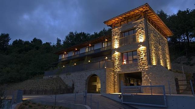 Hotel Ellauri, en Vizcaya