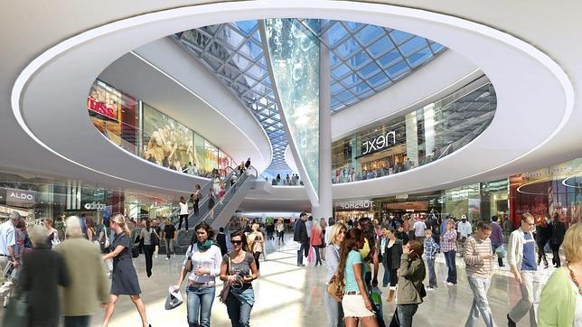 Video de Upskirt en el centro comercial