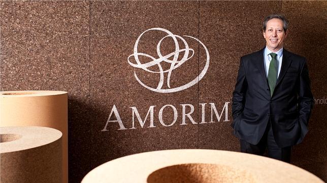 Antonio Amorim, presidente de la corchera Amorim