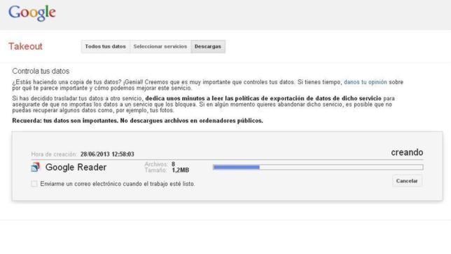 Cómo migrar tus suscripciones de Google Reader a cualquier lector RSS
