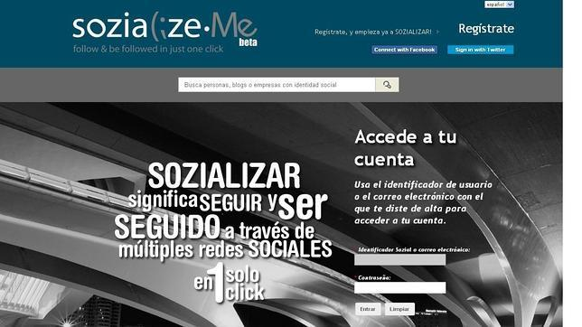 SozializeMe: simplifica tu vida en las redes sociales