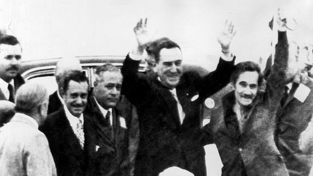 Juan Domingo Perón, en una imagen de archivo de 1972