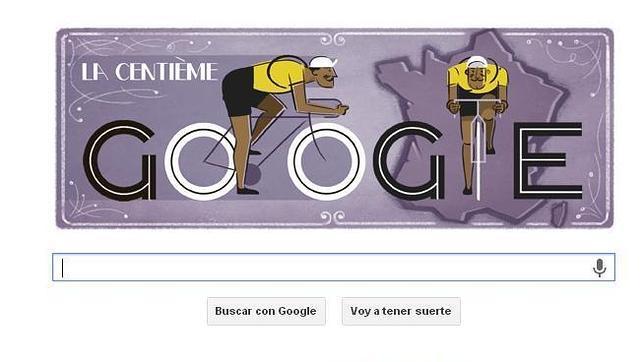 Tour de Francia echa a andar en Google