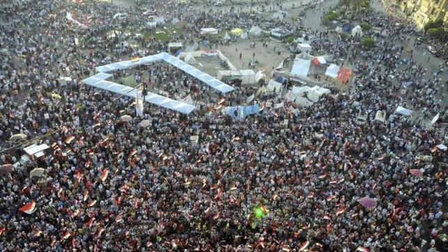 Egipto contiene la respiración ante las protestas convocadas contra Mursi esta tarde