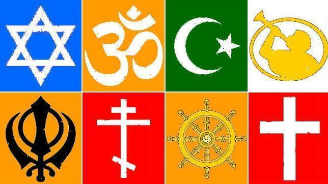 Judíos, hindúes, musulmanes, mormones, sijes, ortodoxos, budistas y protestantes