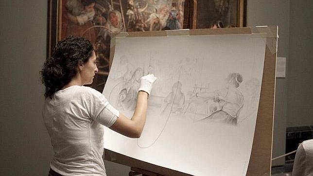 Amaya Bombín: «Una beca artística en el extranjero es una gran motivación»