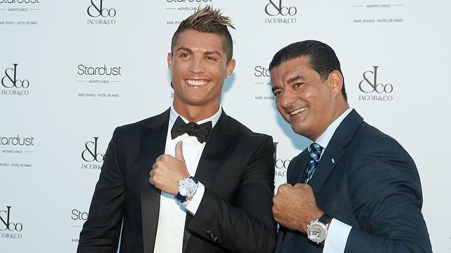 Cristiano Ronaldo, padrino de unos relojes en Montecarlo