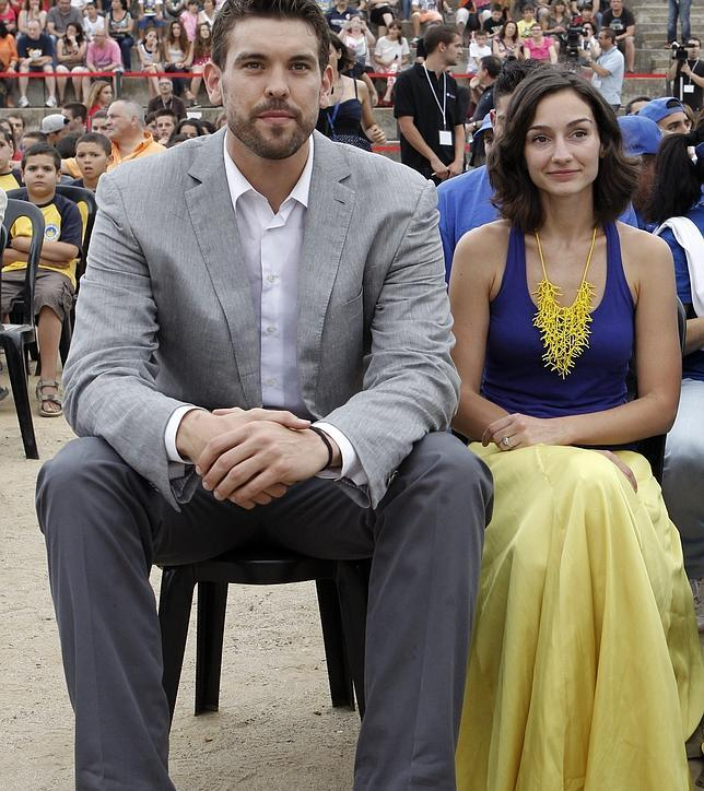 Marc Gasol with beautiful, Wife Cristina Blesa