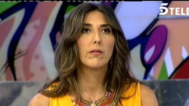 Paz Padilla abandona el plató de «Sálvame diario» por un enfado con el director