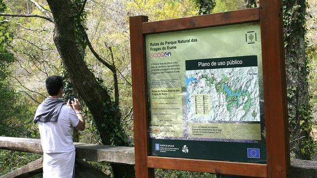 Las Fragas del Eume, en La Coruña, es uno de los parques naturales de Galicia