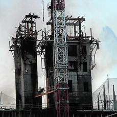 El bbva confirma que el fuego de la vela ha afectado for Bbva sevilla oficinas
