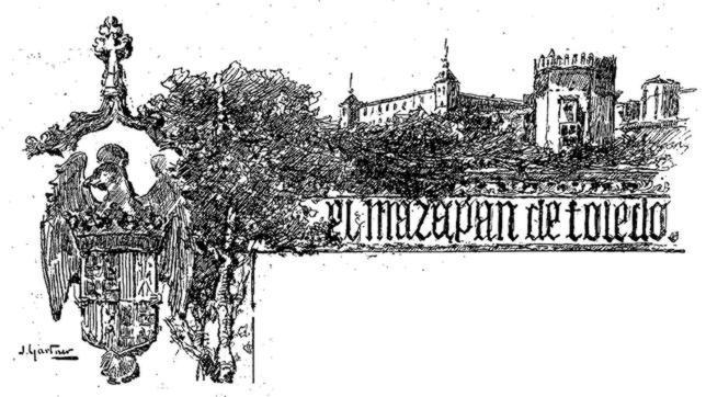 Un artículo sobre el mazapán, el más antiguo de ABC sobre Toledo