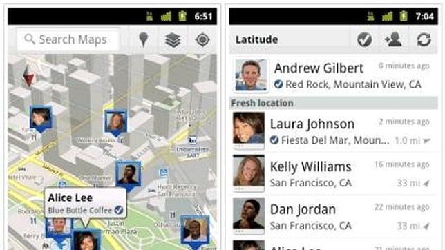 Google retira Latitude, el servicio para localizar a tus amigos
