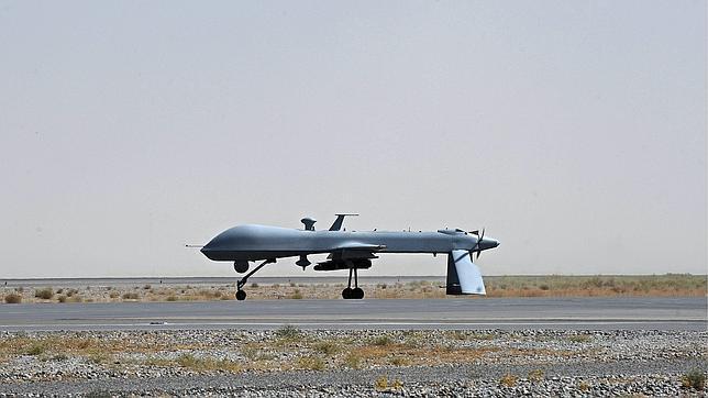 El «drone» de la imagen es uno de los utilizados por el Ejército norteamericano. Los que utilizan en Sudáfrica contra los furtivos están menos desarrollados tecnológicamente