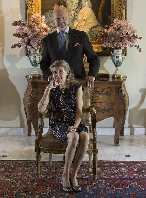 «Antes de la ruina de la familia, tuvimos más títulos que la Casa de Alba»