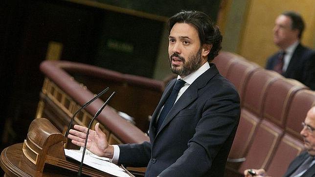 Guillermo Mariscal, diputado del PP, en el Congreso de los Diputados