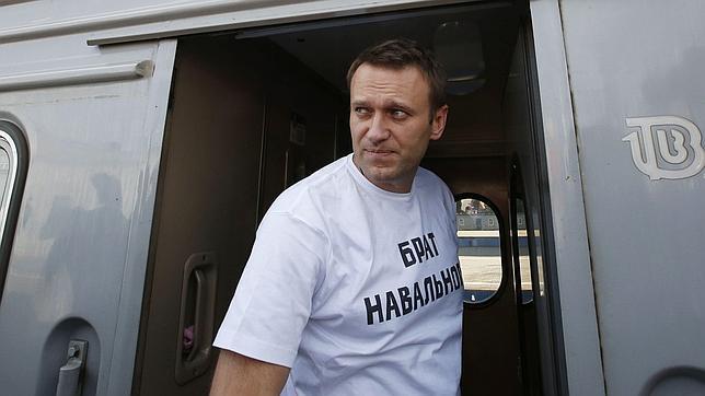 Alexei Navalni, líder opositor ruso, es condenado a cinco años de prisión