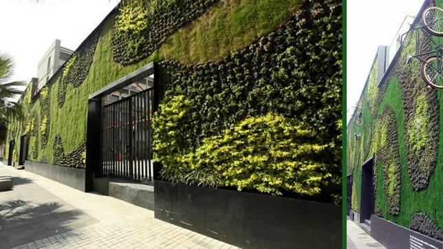 Los jardines verticales m s asombrosos del mundo taringa for Muros de plantas verticales
