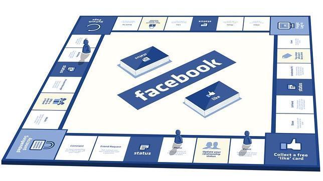 ¿Cómo sería Facebook como un tablero de Monopoly?