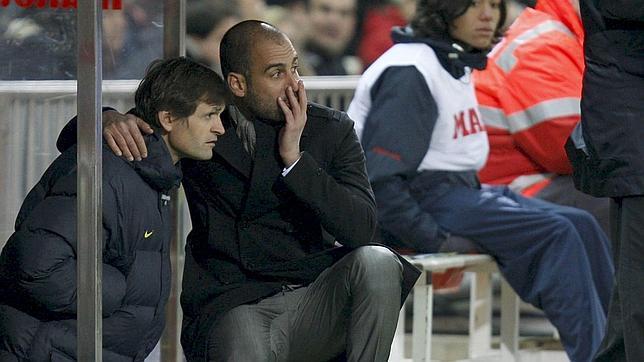 Guardiola, sobre Tito: «Esto es muy, muy duro para mí»